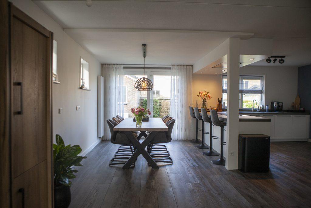 Keuken Aanbouw Aannemersbedrijf Wondergem in Nieuw- en St. Joosland
