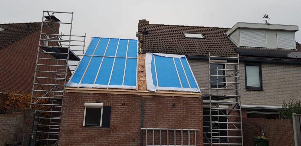 Dakopbouw Aannemersbedrijf Wondergem in Arnemuiden