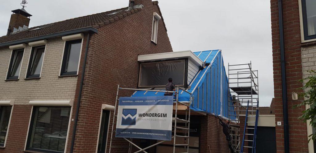 dakopbouw aannemersbedrijf Wondergem Arnemuiden