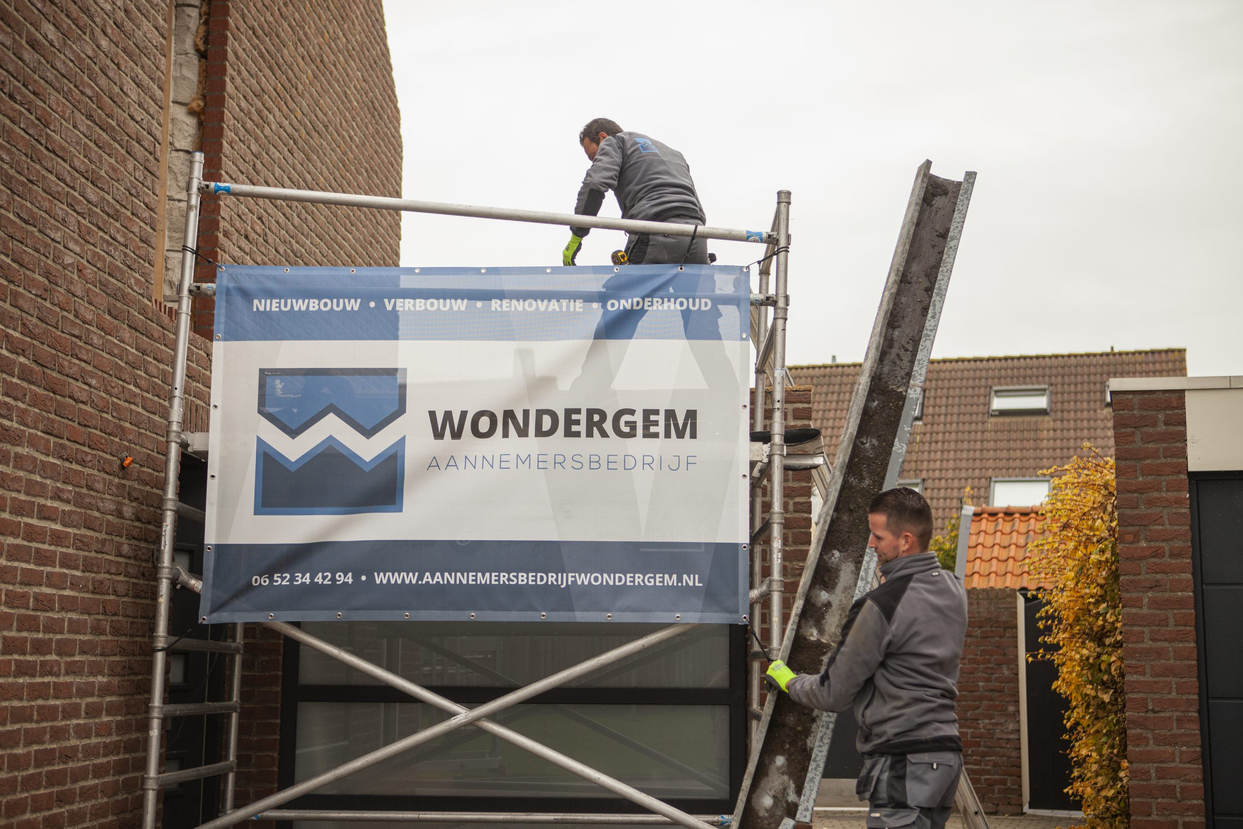 werkzaamheden-Steiger-Dakopbouw-Aannemersbedrijf-Wondergem